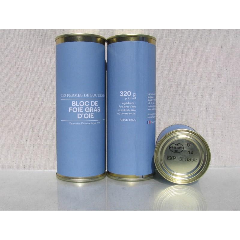Bloc de foie gras d'oie 320 g
